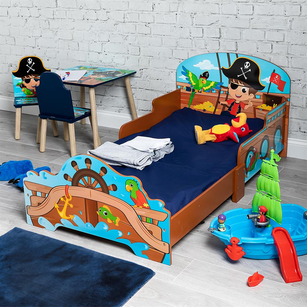 Picture of Kids Toddler Pirate Bed