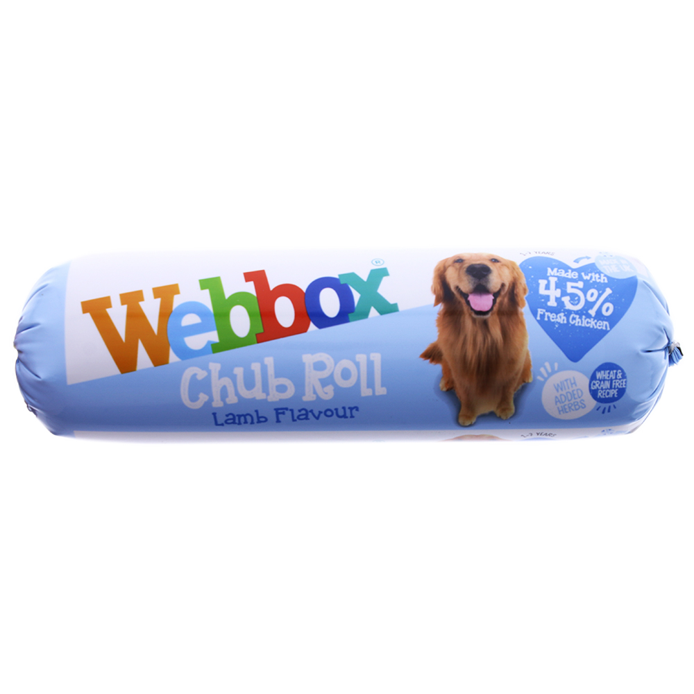 Picture of Webbox Chub Roll Lamb Flavour 720g (Case of 15)