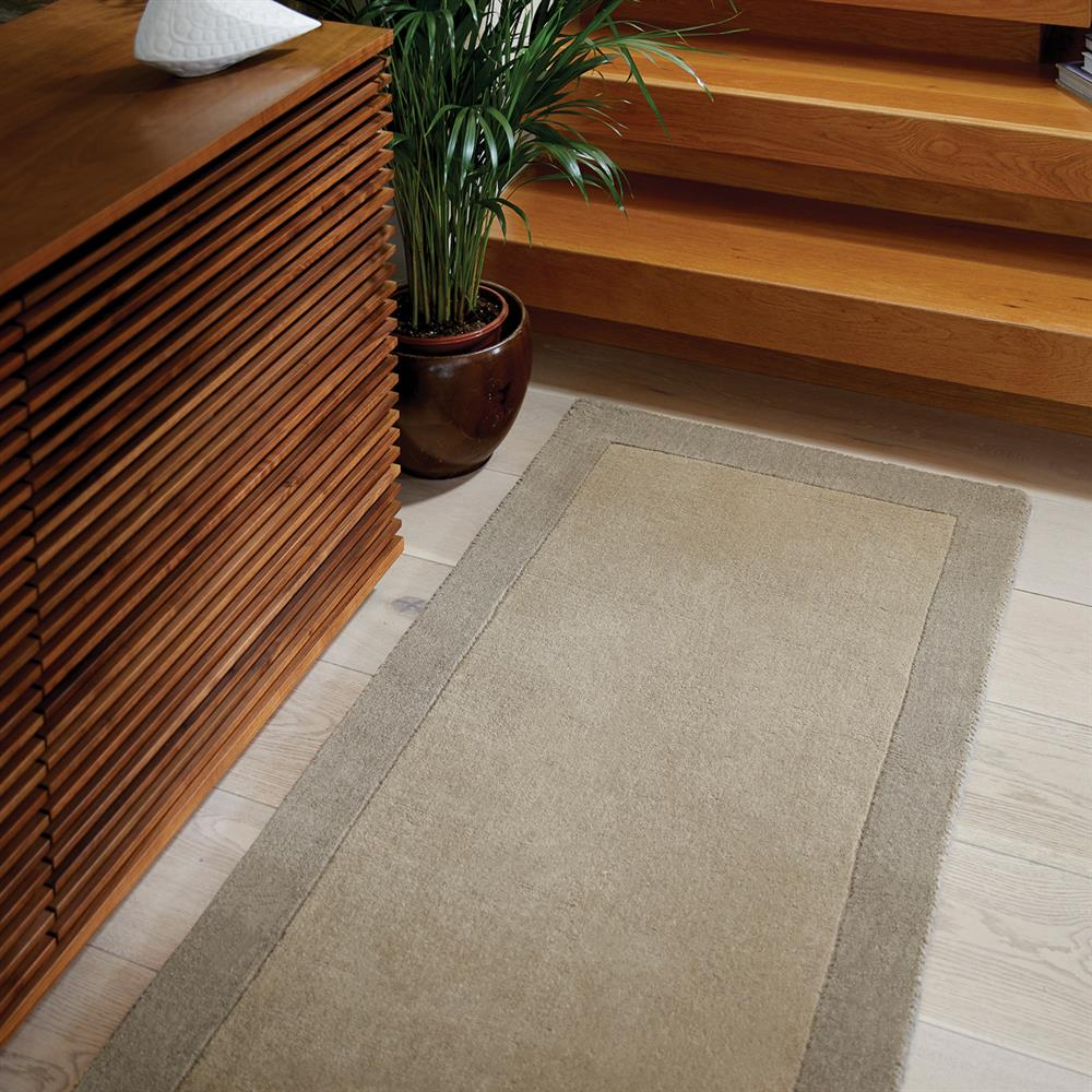 Picture of Origins Borders Taupe Rug