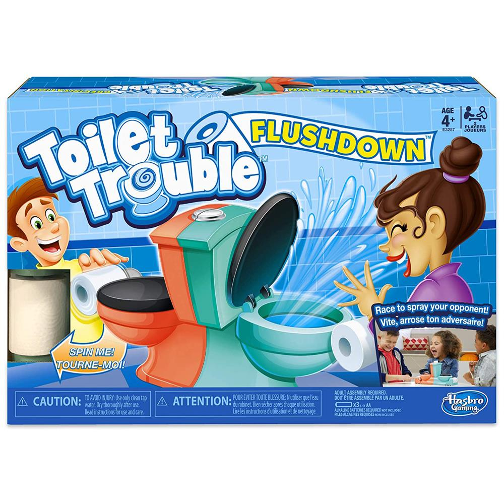 Picture of Toilet Trouble Flushdown Game