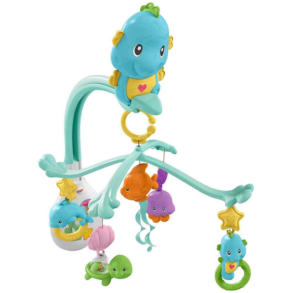 Picture of Fisher-Price 3-In-1 Soothe & Play Seahorse Mobile
