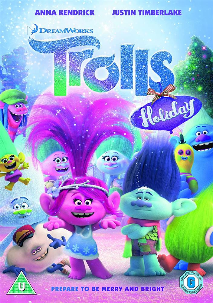 Picture of Trolls Holiday DVD