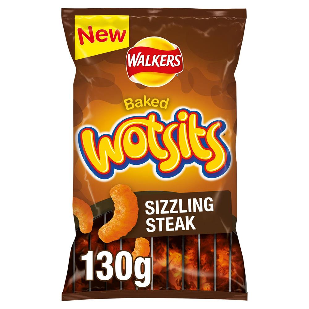 Picture of Baked Wotsits Sizzling Steak 130g (Case of 12)