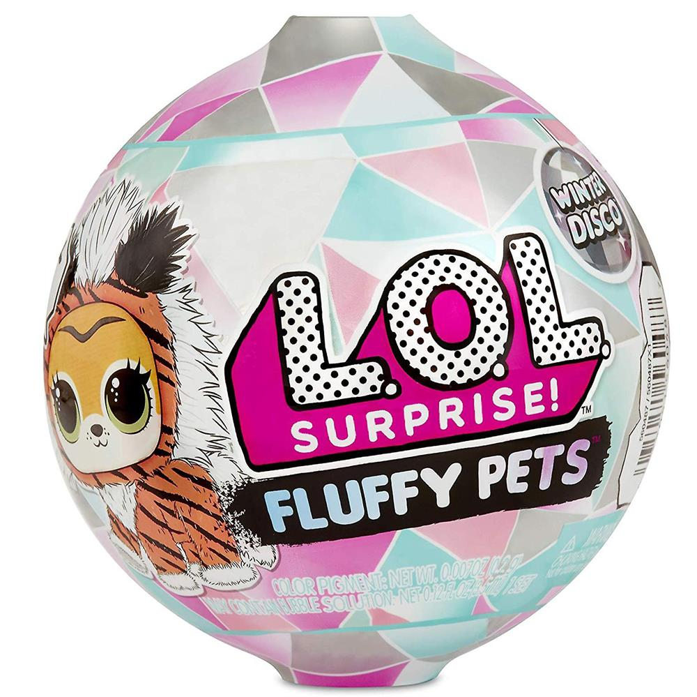 Picture of LOL Surprise Fluffy Pets Winter Disco Series with 9 Surprises
