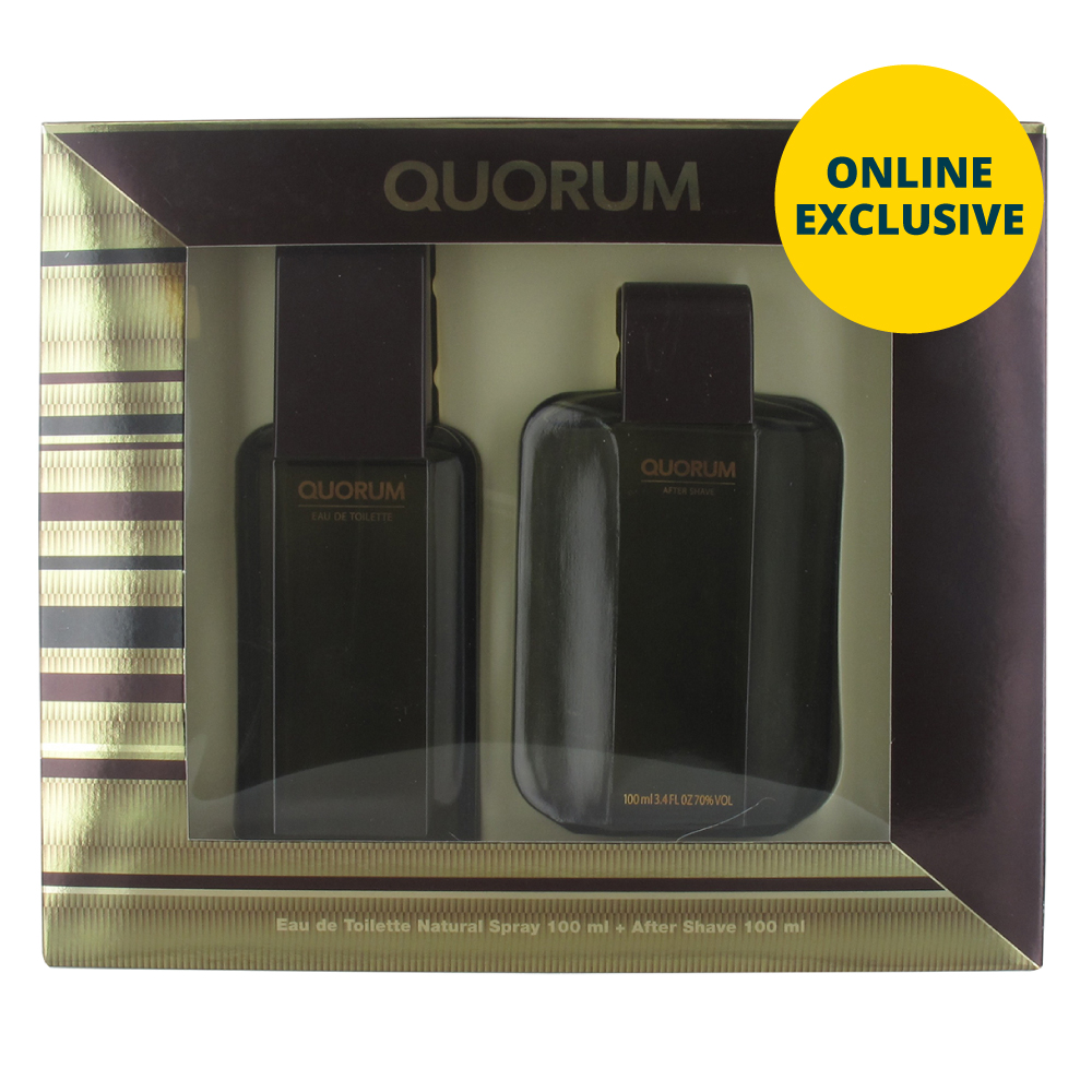 Picture of Quorum 100ml EDT & 100ml After Shave Gift Set