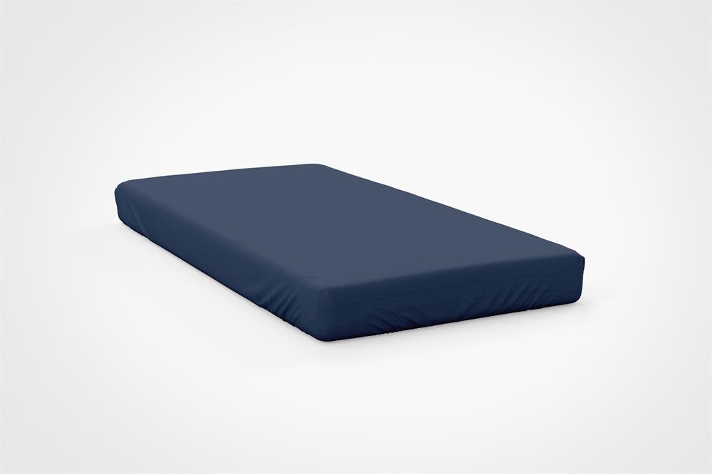 Picture of Belledorm Fitted Sheet: Navy