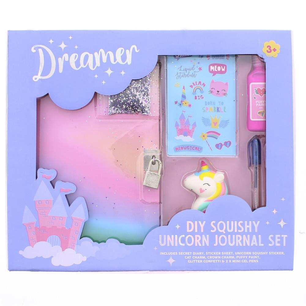 Picture of Dreamer DIY Squishy Unicorn Journal Set