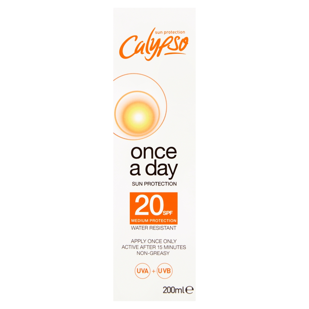 Picture of Calypso: Once a Day Sun Protection Lotion 200ml - SPF 20