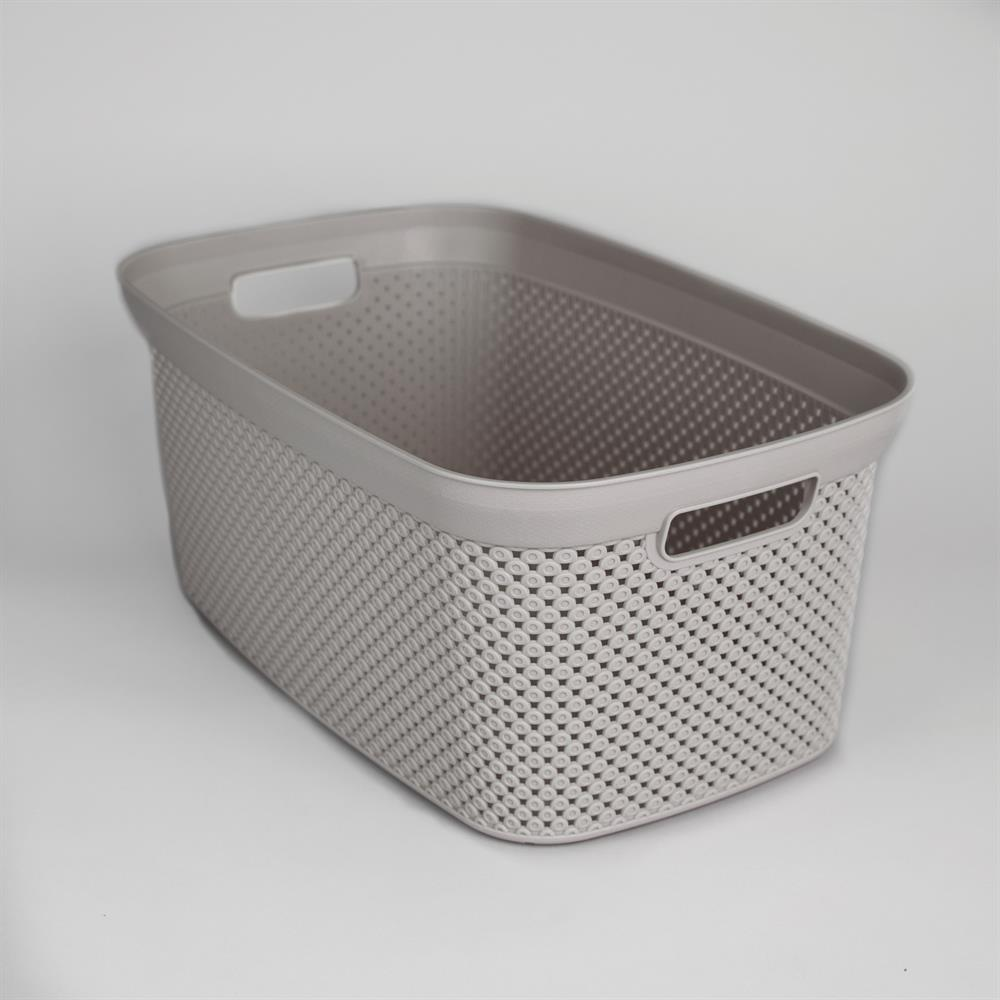 Picture of Diamond 35L Laundry Basket - Grey