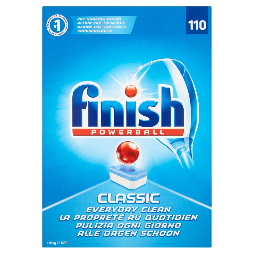 Picture of Finish Powerball Classic (Box of 110 Tablets)