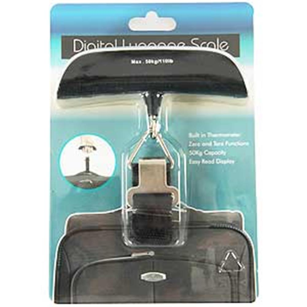 Picture of Digital Luggage Scale & Thermometer