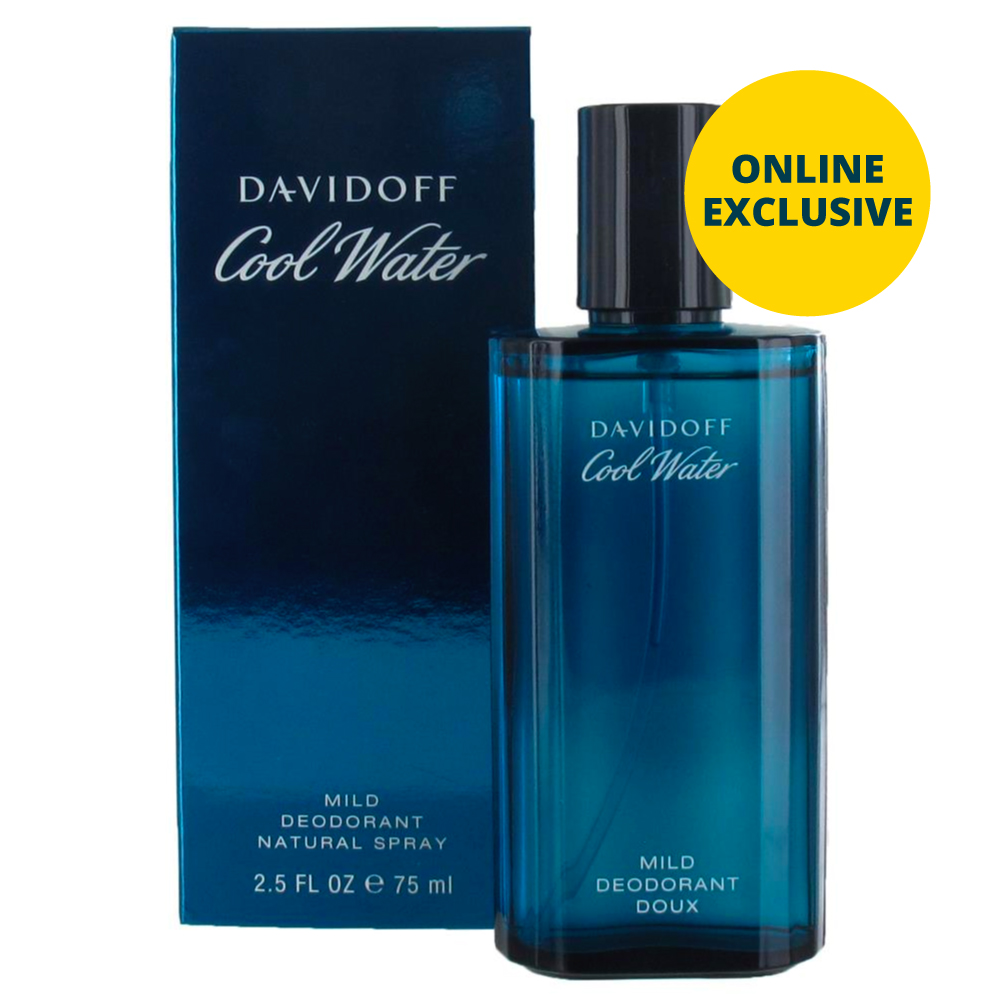 Picture of Davidoff Cool Water Mild Deodorant Natural Spray 75ml