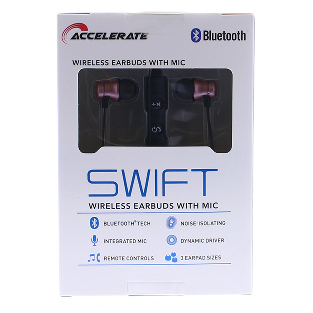 Picture of Accelerate Swift Wireless Earbuds - Pink