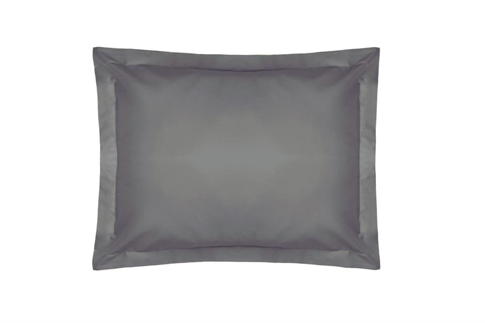 Picture of Belledorm Oxford Pillowcase: Grey