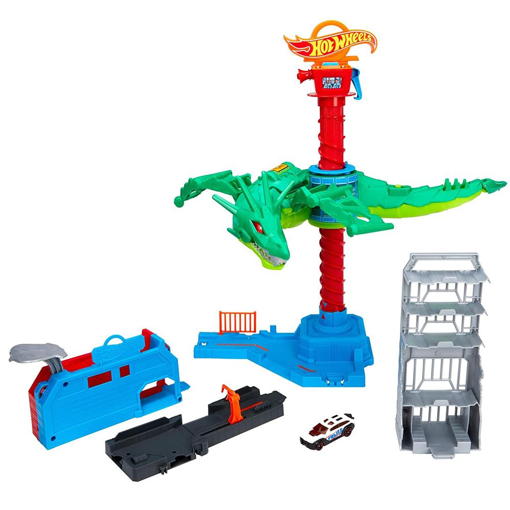 Picture of Hot Wheels Air Attack Dragon Playset