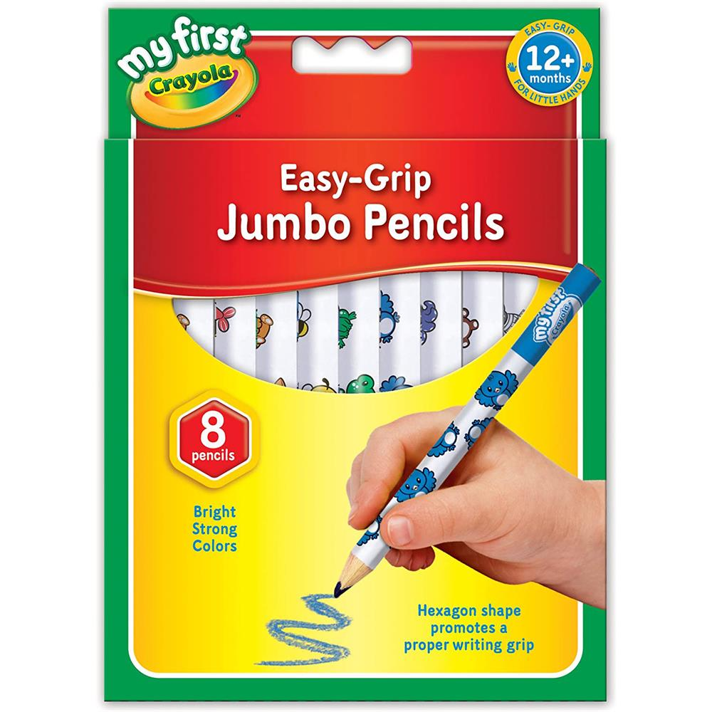 Picture of Crayola My First Easy-Grip Jumbo Pencils