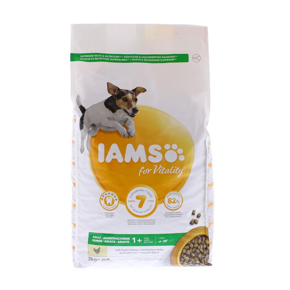 Picture of IAMS Small/Medium Adult Chicken 3kg