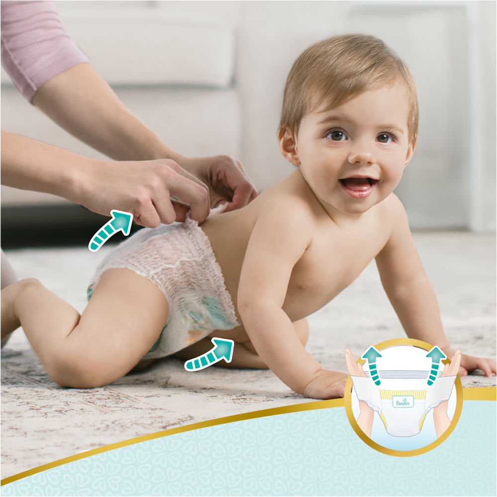 Picture of Pampers Premium Protection Size 4 (Case of 3 x 34 Nappy Pants)