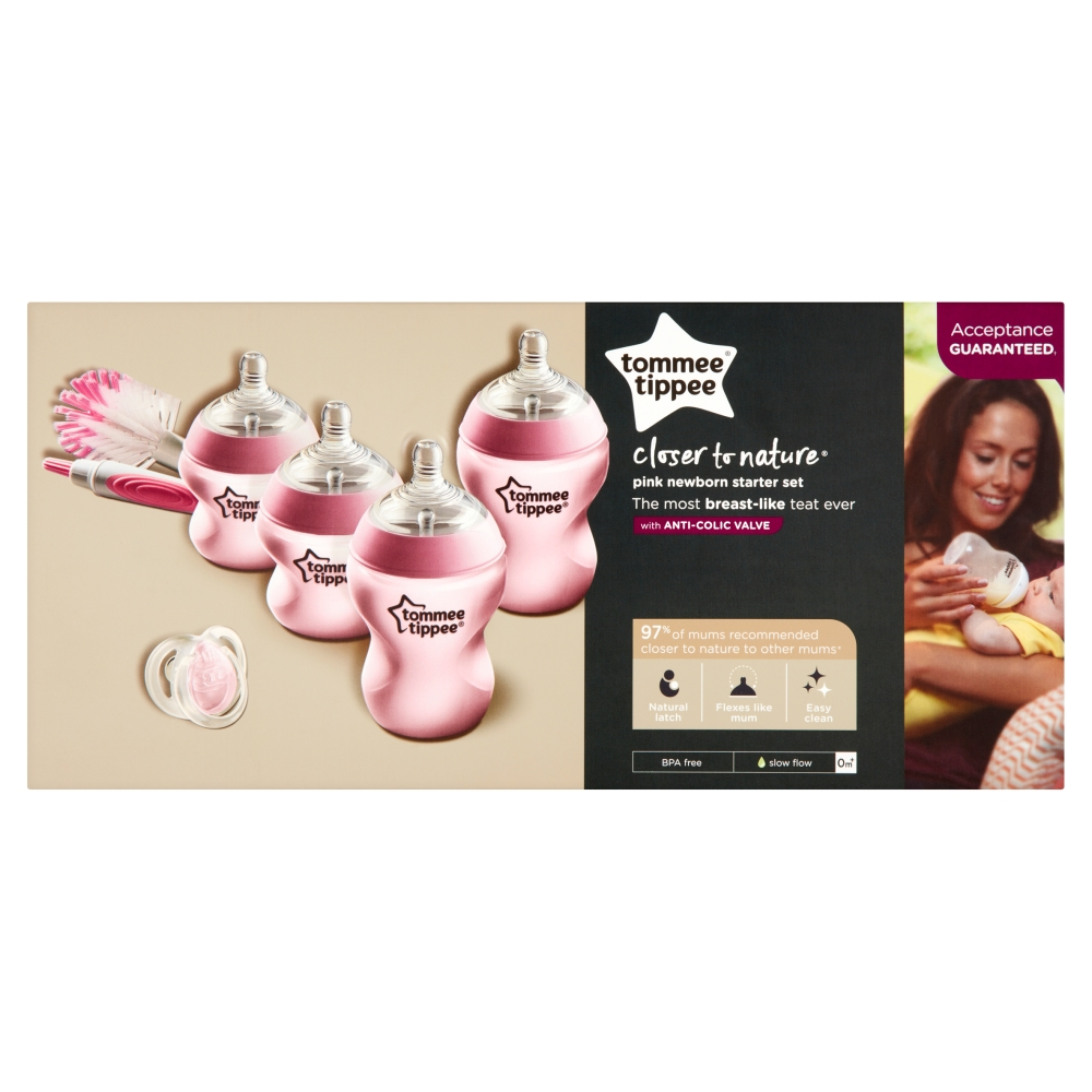 Picture of Tommee Tippee: Closer to Nature Starter Set (Pink)