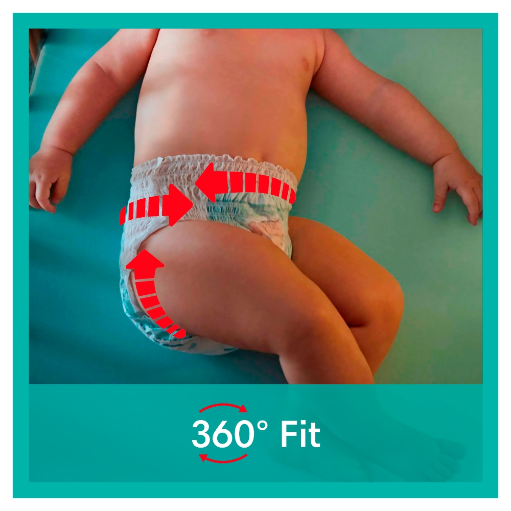 Picture of Pampers Baby-Dry Nappy Pants Size 5 (4 x 21 Nappies)