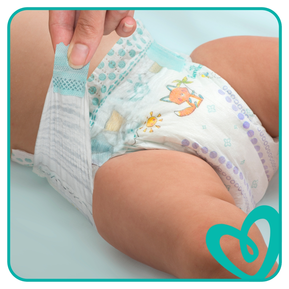 Picture of Pampers Baby-Dry: 100 Nappies (Size 4 )