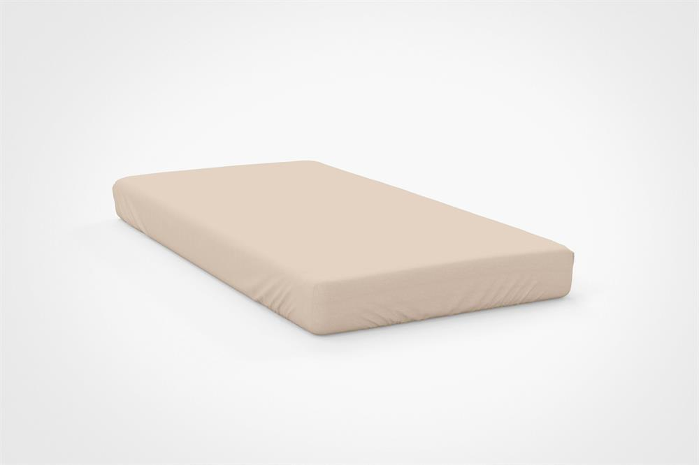 Picture of Belledorm Extra Deep Fitted Sheet: Cream
