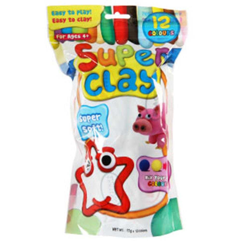 Picture of Super Clay 12 Colours Pack