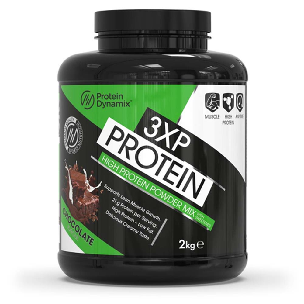 Picture of Protein Dynamix Mass Gainer High Calorie Protein Formula Chocolate Brownie