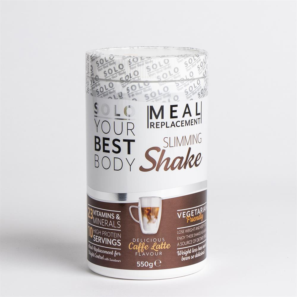 Picture of Solo Meal Replacement Slimming Shake 550g - Caffe Latte