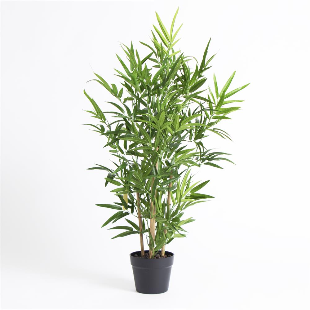 Picture of Artificial Bamboo Plant in Black Pot