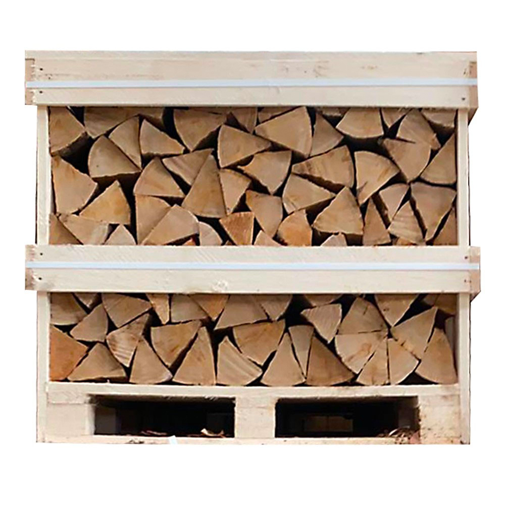 Picture of Small Loose Kiln Dried Birch Log Crate (*Including Home Delivery)
