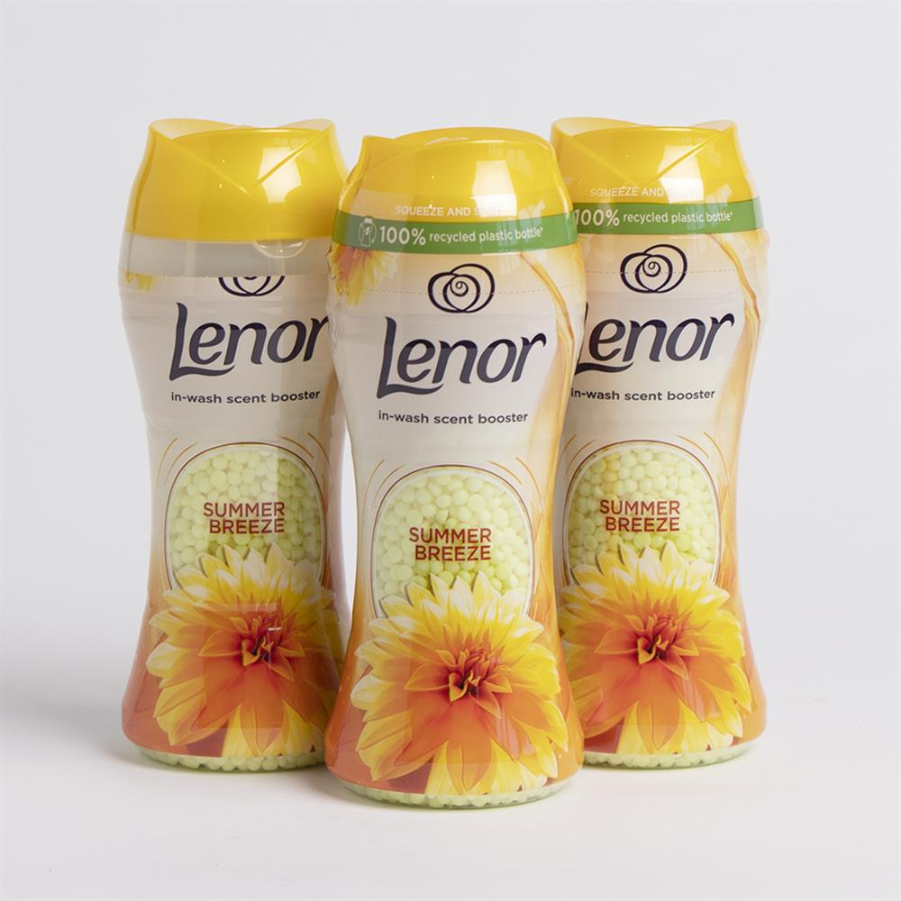 Picture of Lenor In-Wash Scent Booster Summer Breeze (3 x 194g)