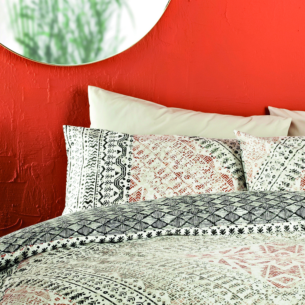 Picture of Ports of Call by Jeff Banks: Berba Panel Duvet Set