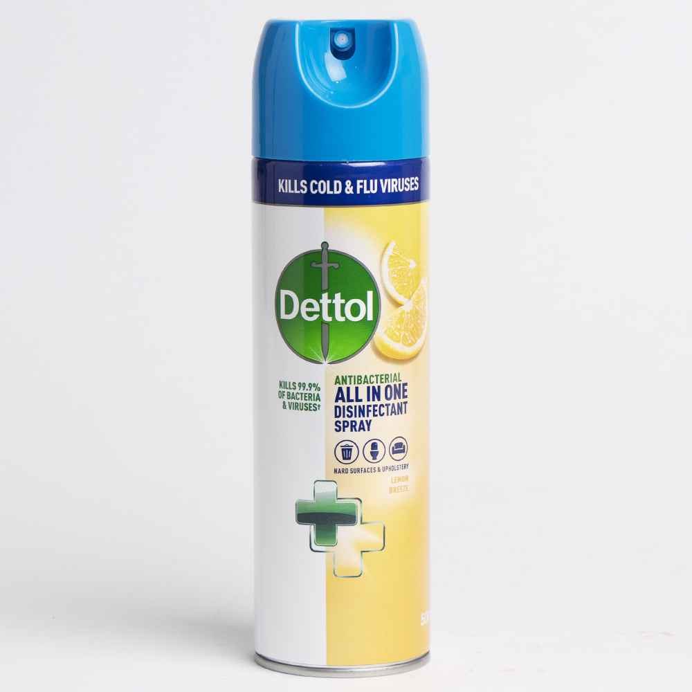 Picture of Dettol All In One Disinfectant Spray (Case of 6 x 500ml)- Lemon Breeze