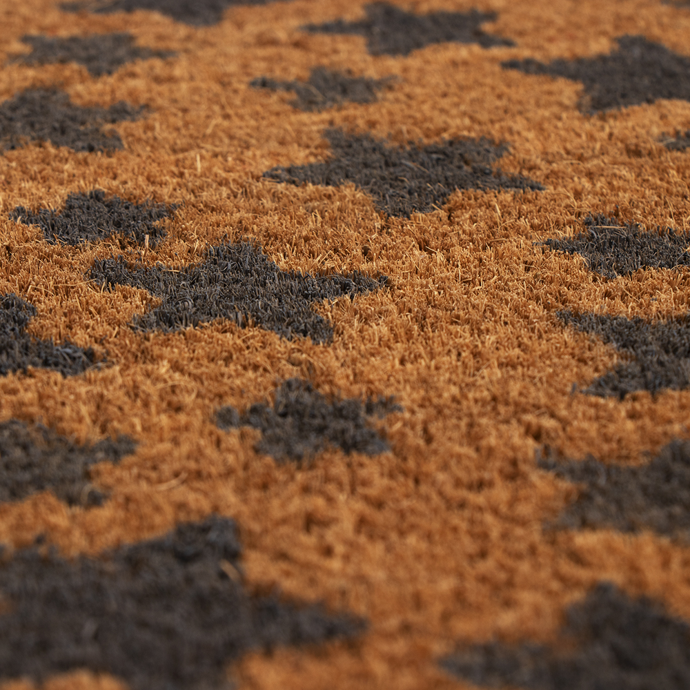 Picture of Home Collections Printed Pattern Coir Mat - Star