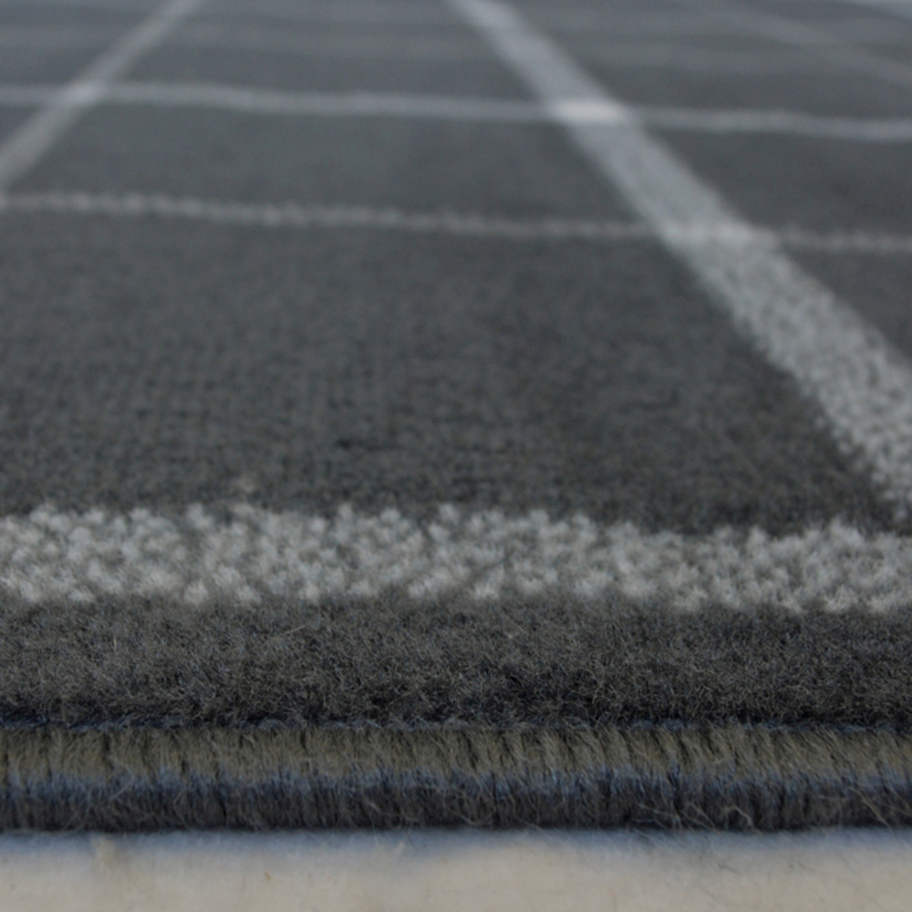 Picture of Maestro Check Grey Rug