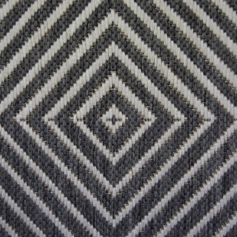 Picture of County Diamond Grey Rug