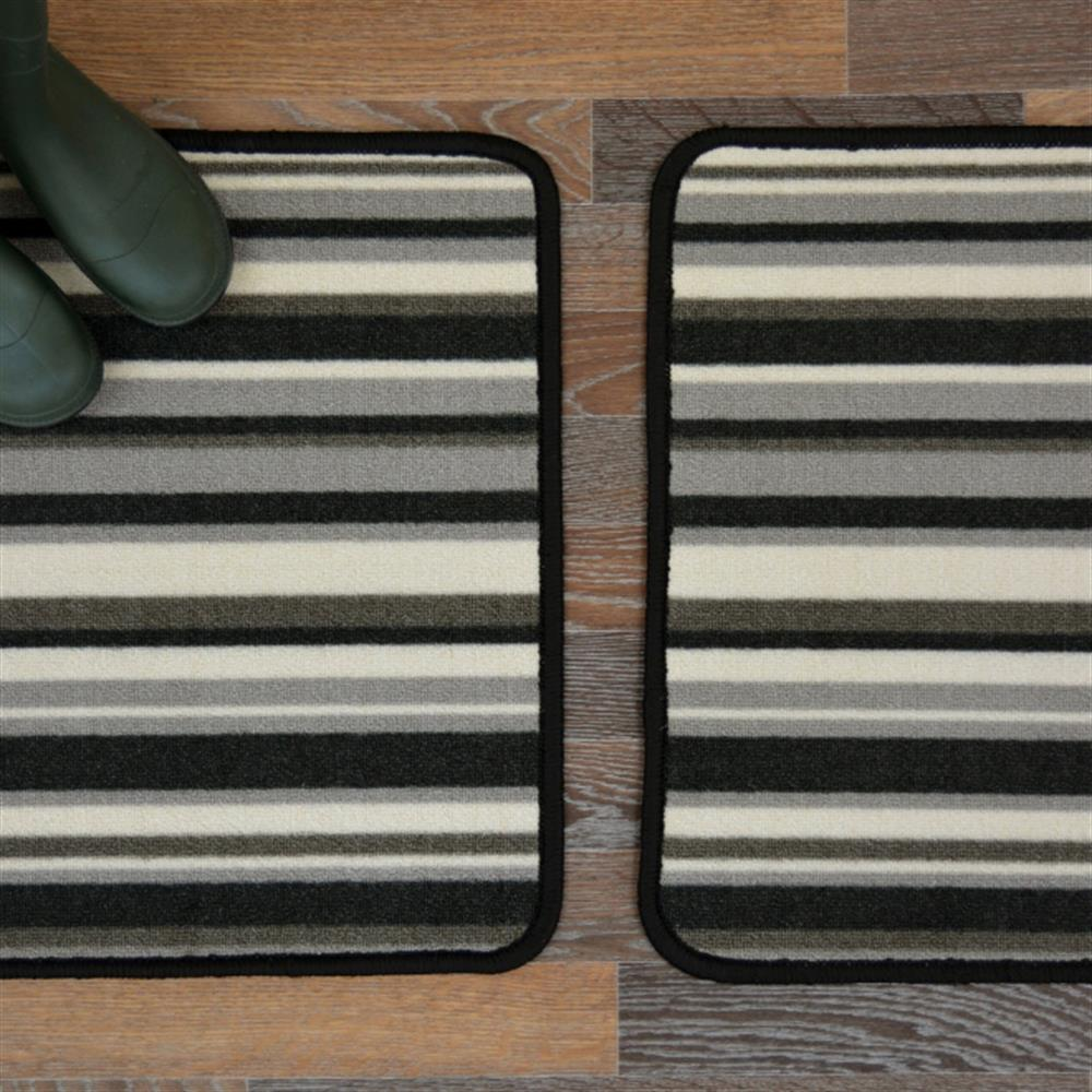 Picture of Hyde Park Anthracite Runner & Mat Pack