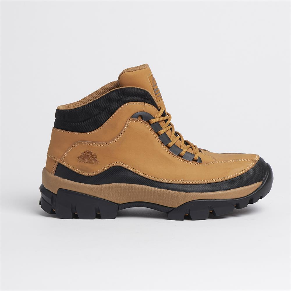 Picture of Groundwork Steel Toe Cap Safety Boots Honey