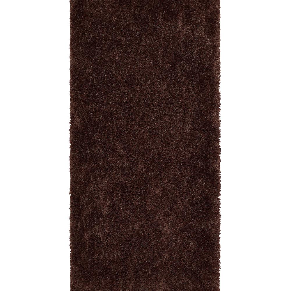 Picture of Origins Chicago Thick Twist Shaggy Chocolate Rug