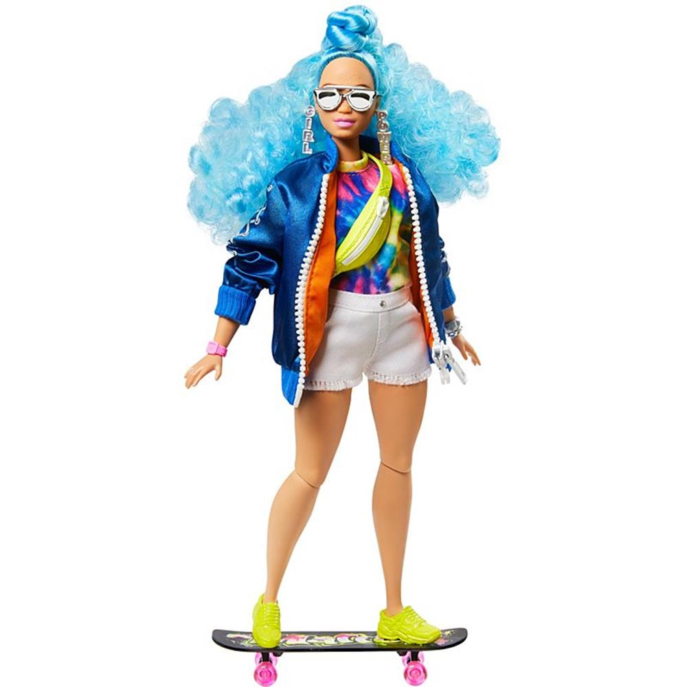 Picture of Barbie: Extra Doll #4 With Skateboard & 2 Kittens