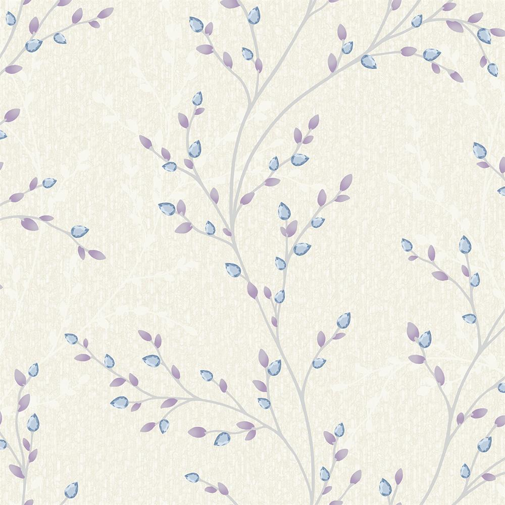 Picture of Opus Amelio Blue/Lilac Wallpaper