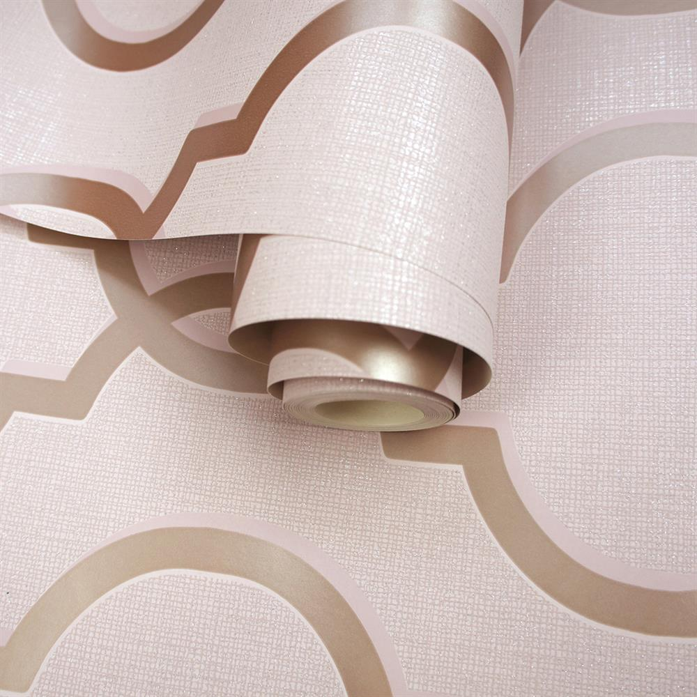 Picture of Laticia Pink Wallpaper