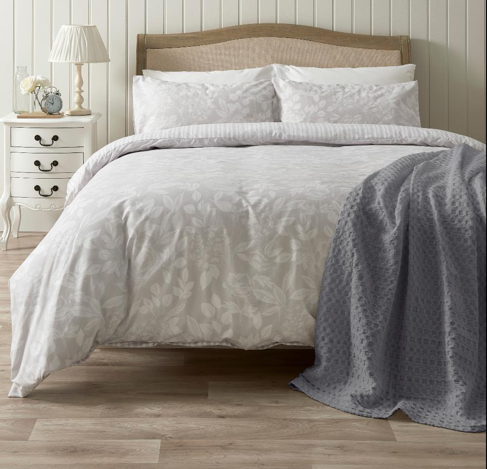 Picture of Hotel Waffle Throw Grey