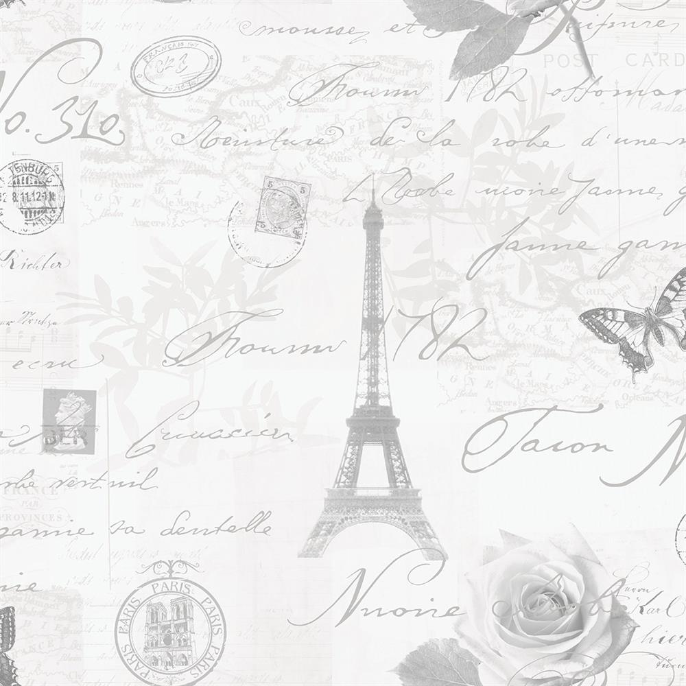 Picture of Calligraphy WP Grey Wallpaper