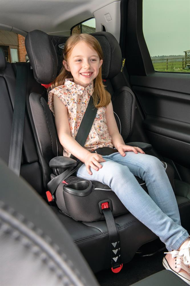 Picture of Graco Affix Group 2/3 Highback Booster Car Seat: Stargazer Colour