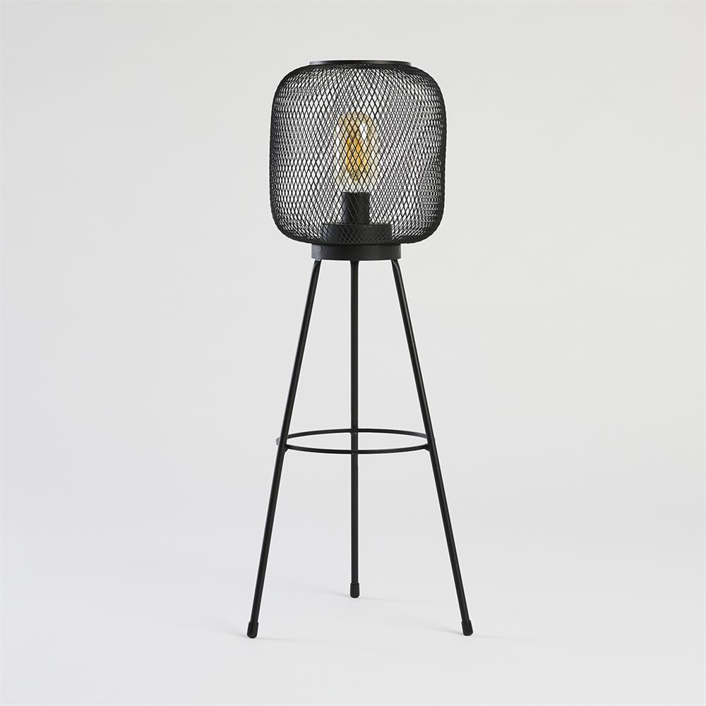 Picture of Home Collections: Mesh Standing LED Lamp - Black