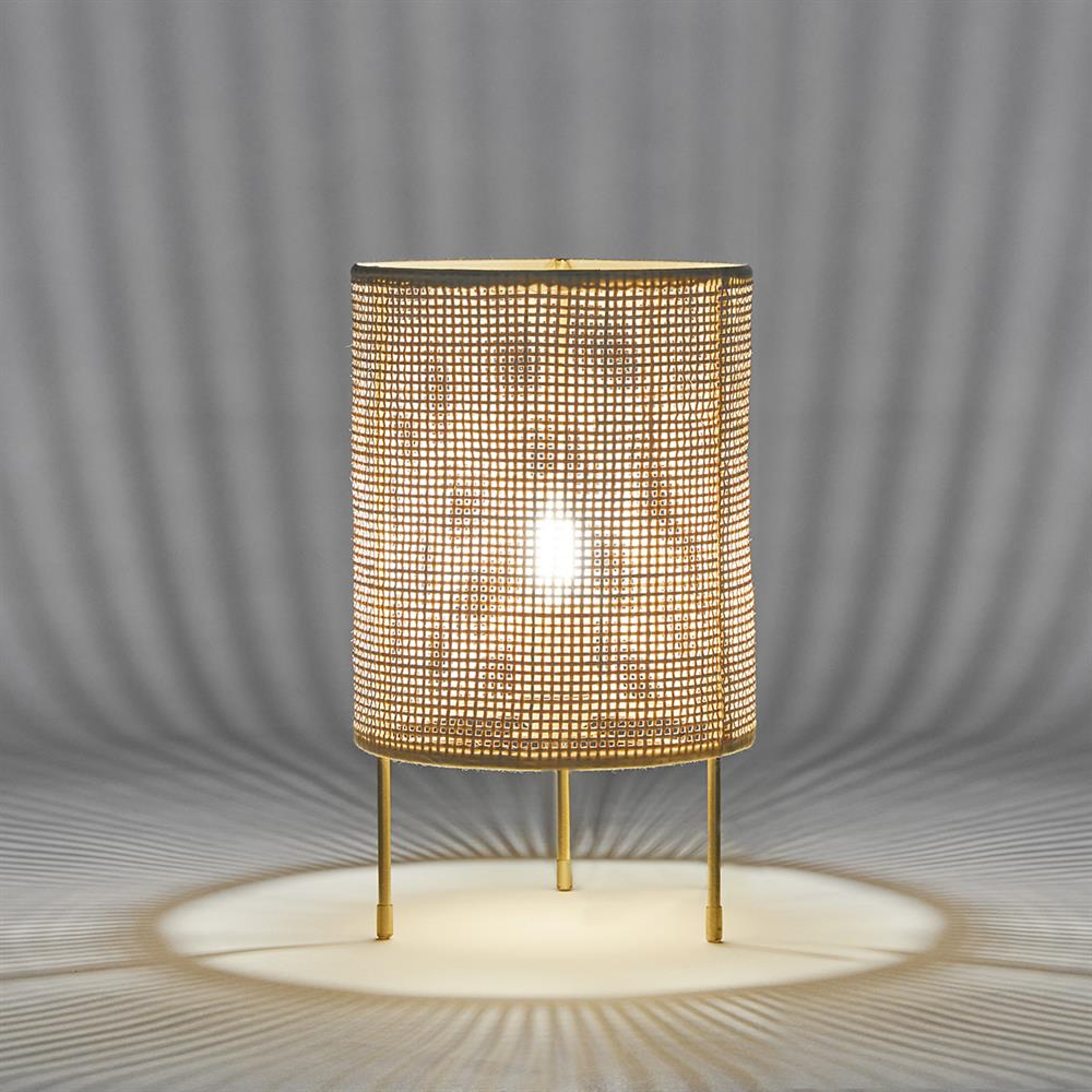 Picture of Ports of Call by Jeff Banks: Rattan Table Lamp