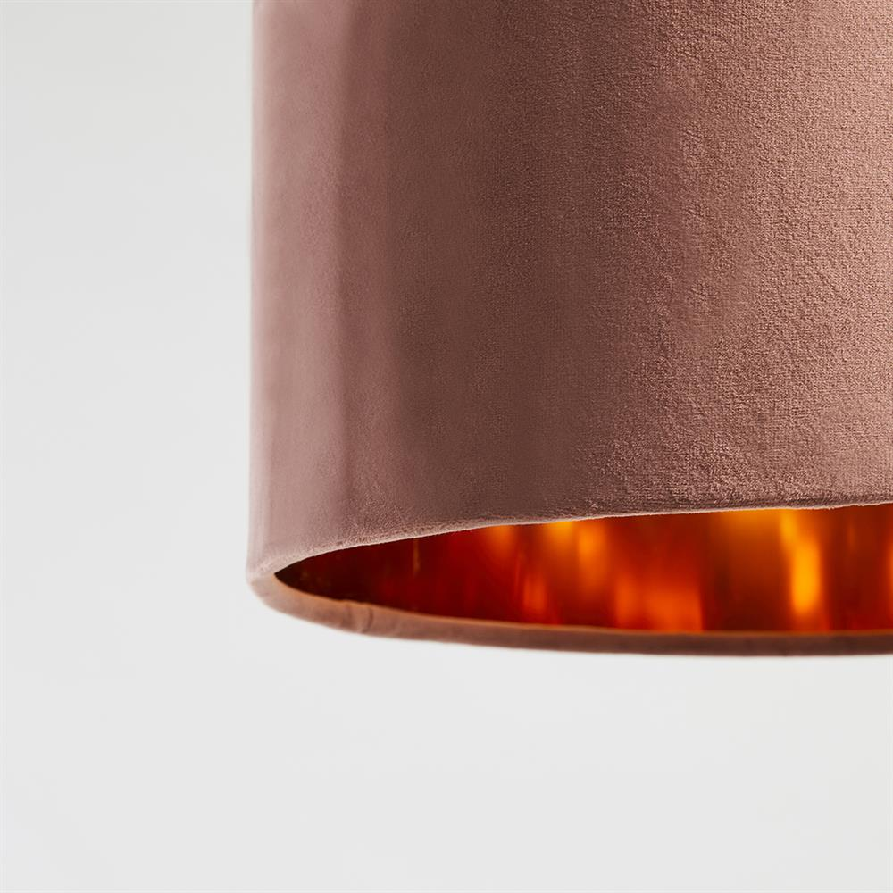 Picture of Home Collections: Velvet Lamp Shade - Pink