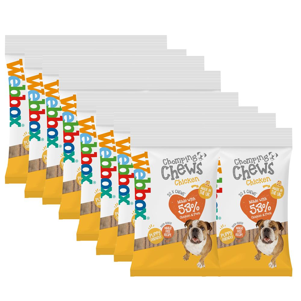 Picture of Webbox 20 Chomping Chews: Chicken (Case of 16)